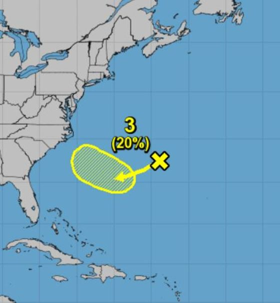 'Zombie Florence' Lurching off Bermuda Watched by Forecasters
