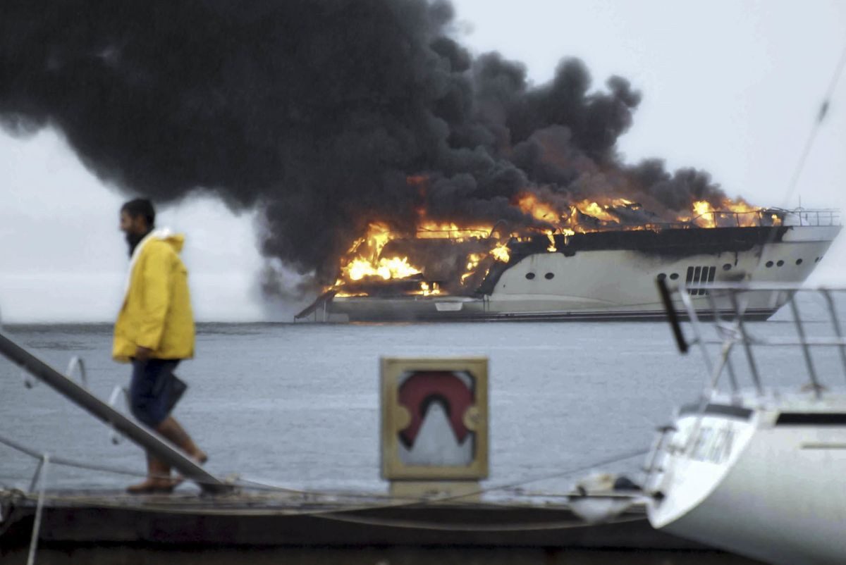 Why Are All These Superyachts Catching on Fire? - Bloomberg