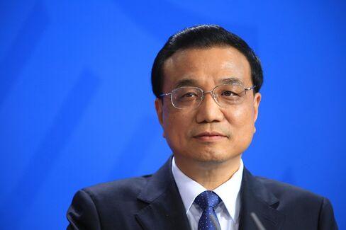 Li Keqiang, the premier of China. Photographer: Krisztian Bocsi/Bloomberg