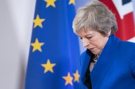 UK Prime Minister Theresa May Formalizes Brexit Agreement