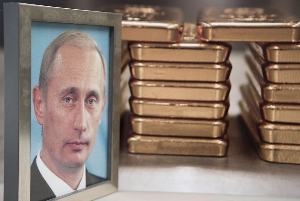 Why Russia and Turkey Are Such Gold Bugs - Bloomberg