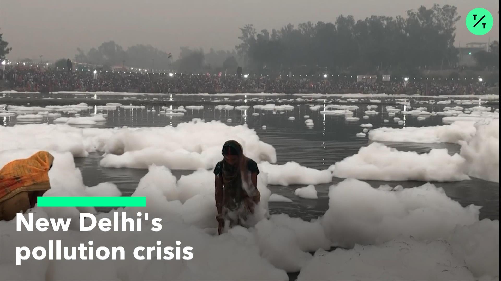 New Delhi's Pollution Crisis