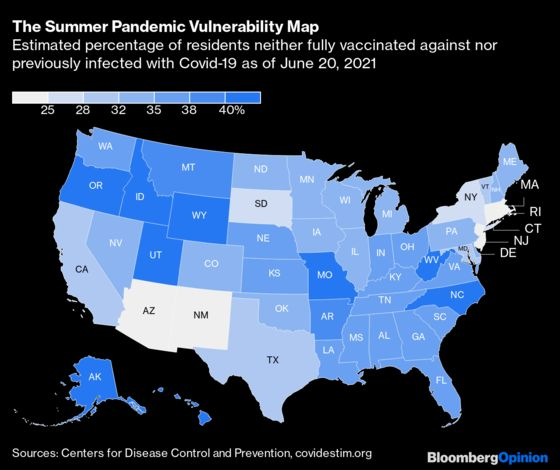 State-by-State Vulnerability Guideto Covid-19