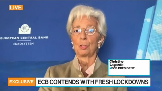 Lagarde Says Market Can Test ECB Resolve as Much as It Wants
