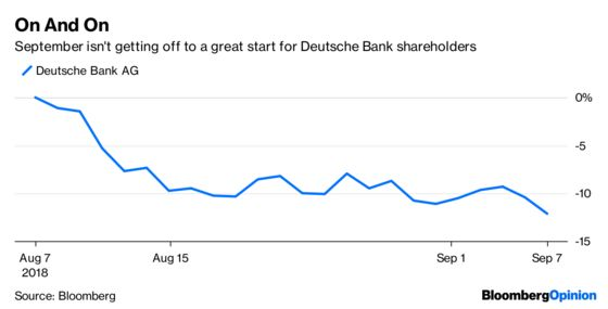 Deutsche Bank Can Afford to Lose HNA