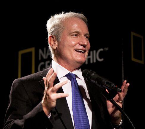 National Geographic Society CEO John Fahey
