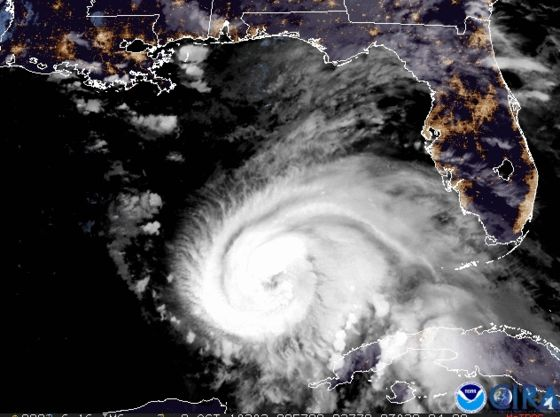 'Extremely Dangerous' Hurricane Michael Heads for Florida's Panhandle