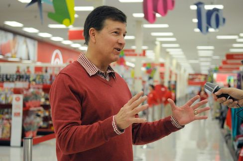 Former Target Corp. Chief Executive Officer Gregg Steinhafel, at a Target store in Bloomington, Minn., on Nov. 22, 2012.
