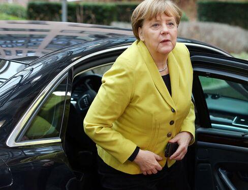 Turkey's Prime Minister Ahmet Davutoglu Meets European Leaders At Refugee Summit