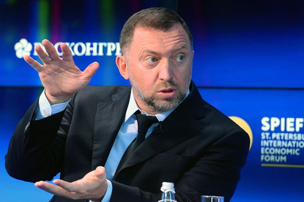 Image result for Trump, oligarchs, Deripaska