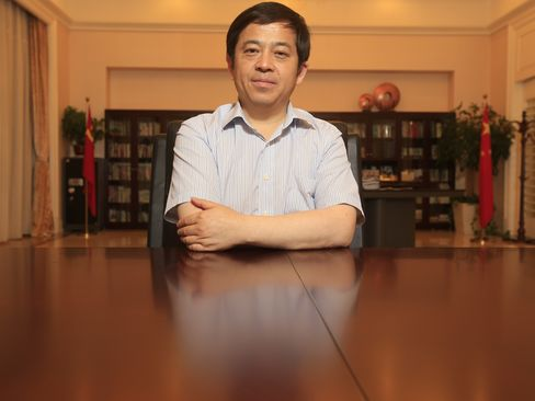 Sany Heavy Industry Co. Vice Chairman Xiang Wenbo