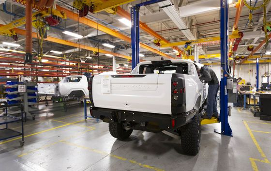 GM's $27 Billion Electric Bet Begins With Bad-Boy Hummer Truck