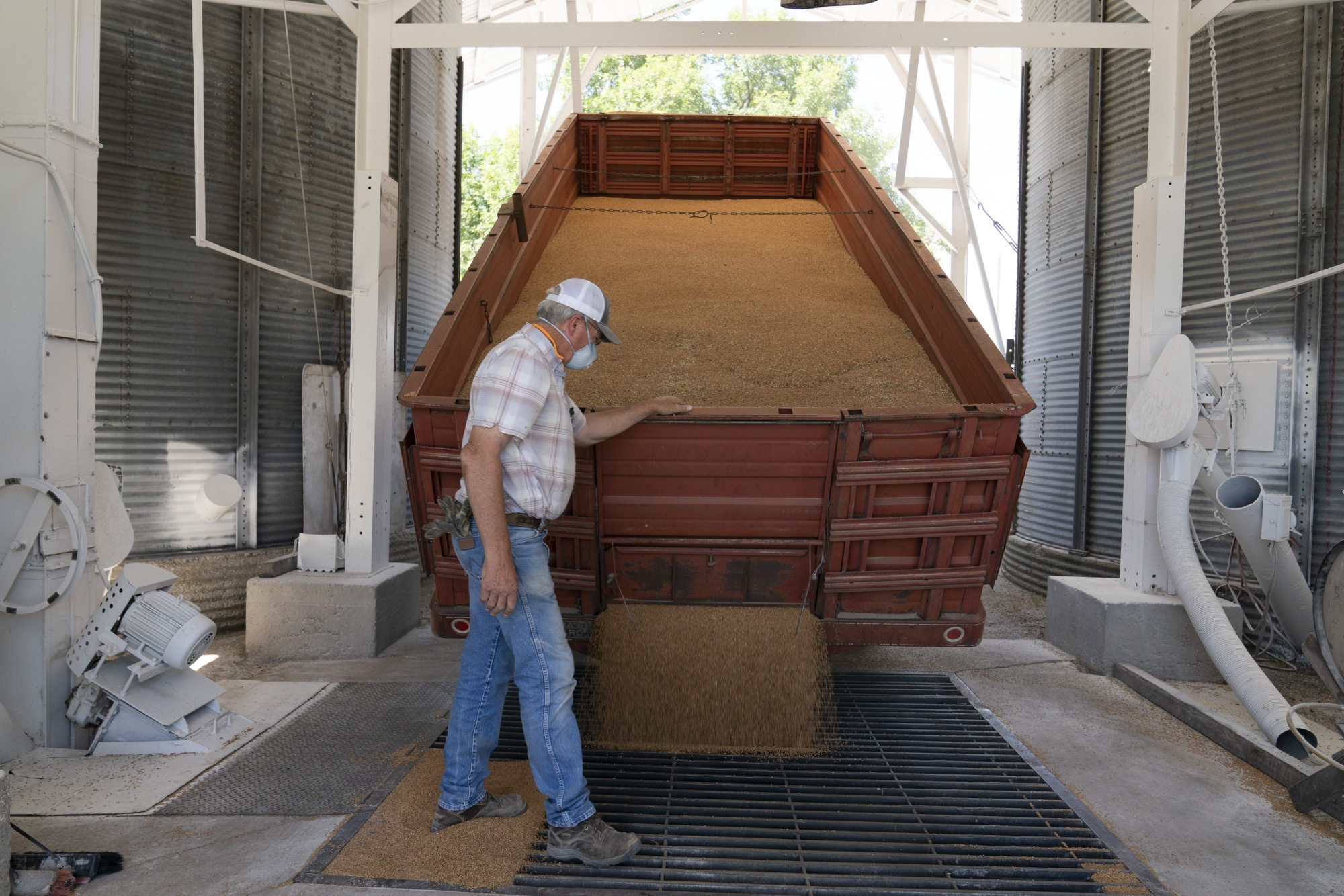 A Winter Wheat Harvest As Grains Futures Pare Losses