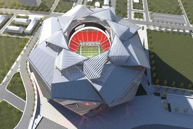 Atlanta Falcons New Stadium Design Draws Attention To The