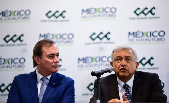 It's All Peace and Love Between AMLO and Mexico's Business Elite