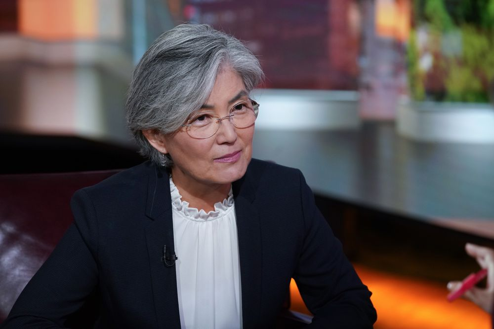 Korea's Foreign Affairs Minister Kang Kyung-Wha Interview