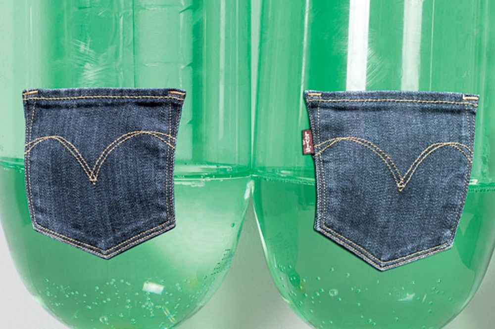 b41645bba16 Levi's Goes Green With Waste - Bloomberg