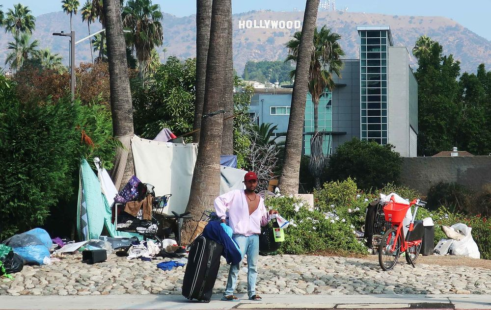In Los Angeles County, 44,000 homeless lack proper shelter.