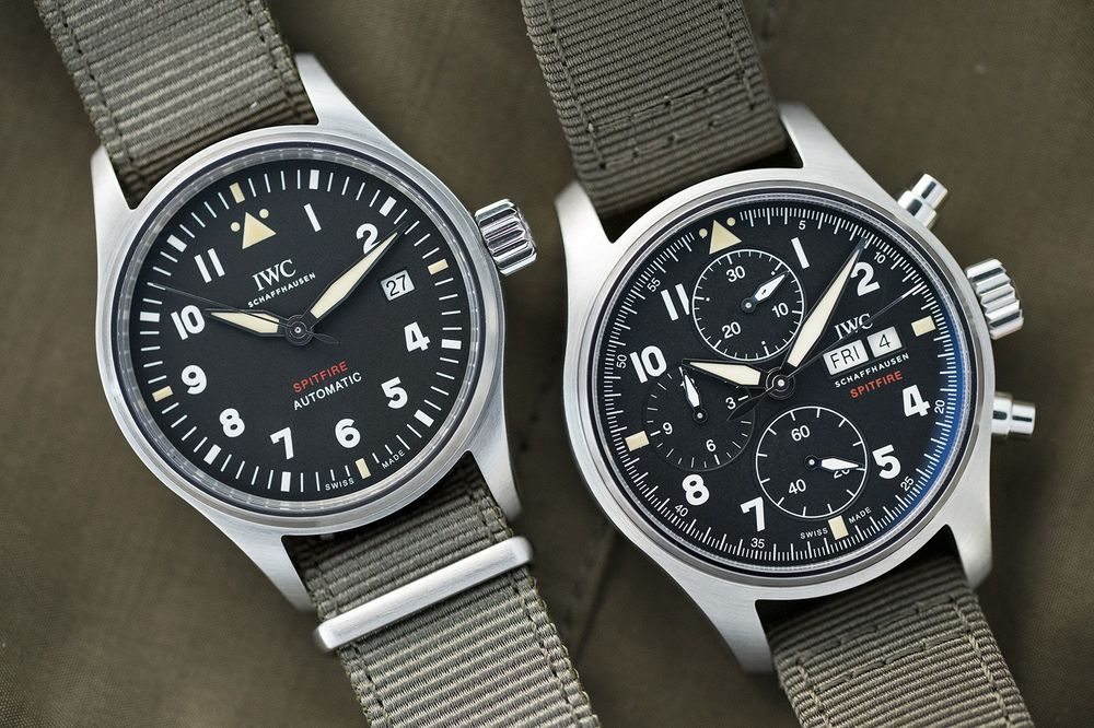 127642b34ae IWC Pilot Watches New Spitfire Collection  Specs
