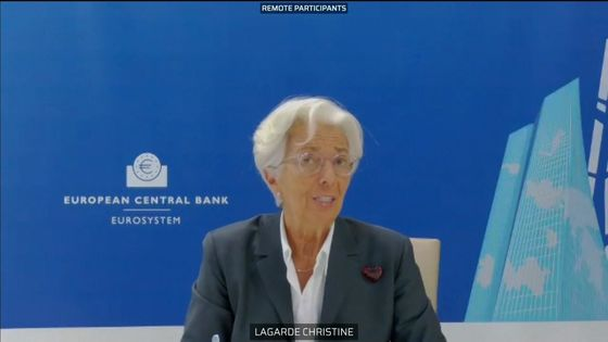 Lagarde Says ECB Ready to Act as Pandemic Burdens Economy