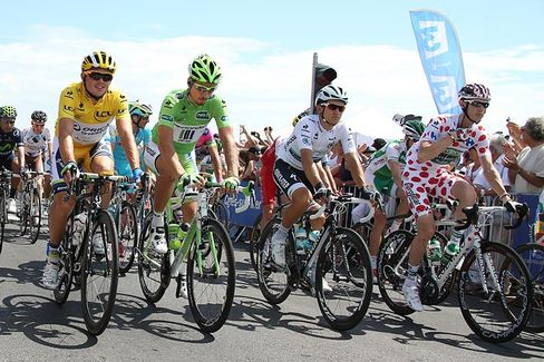 Tour de France: Same Big Race, Much Smaller Sponsors