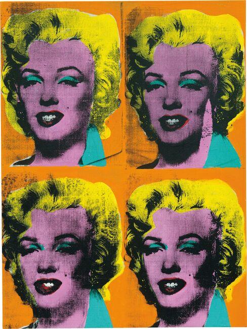 'Four Marilyns'