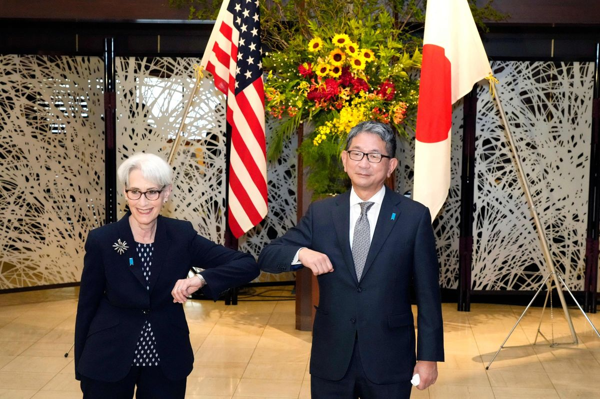 U.S. Envoy Discusses Taiwan in Tokyo; No Update on China Trip