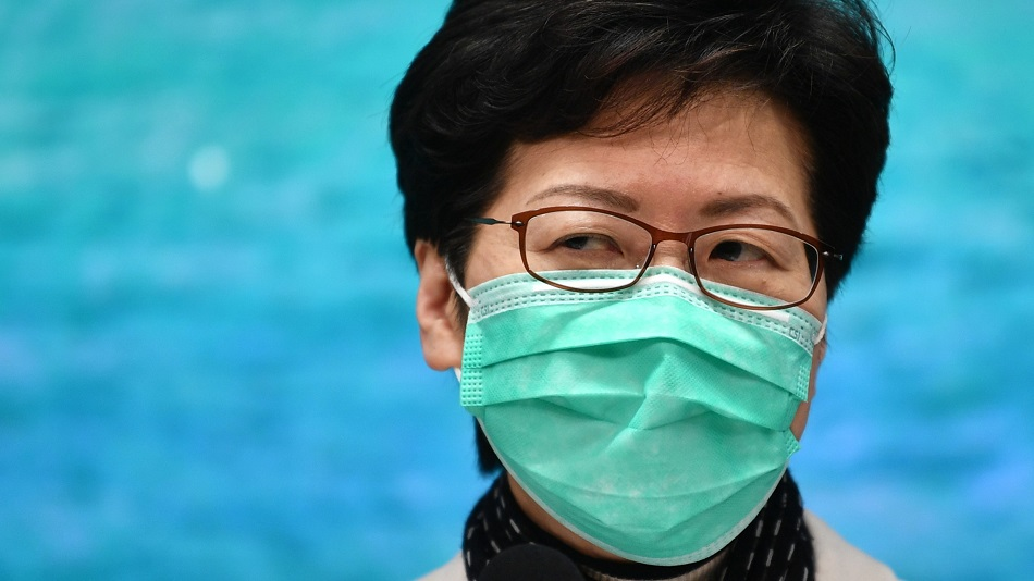 Hong Kong Chief Executive Carrie Lam on Virus, Travel Restrictions: We Should Start With the Source