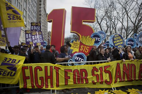 Fast-Food Workers To Rally In 230 U.S. Cities Seeking Higher Pay