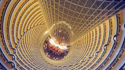 A Grand Hyatt hotel in China.
