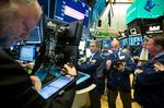 Traders work on the floor of the New York Stock Exchange (NYSE) in New York, U.S., on Monday, Oct. 29, 2018. U.S. stock rose on speculation the month long rout in equities had gone too far.