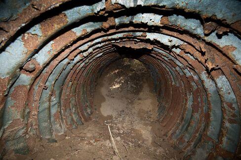 German Spy Tunnel