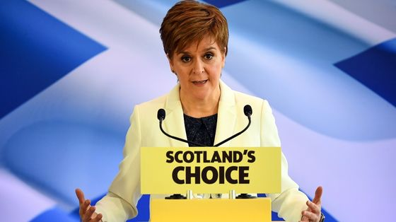 Scotland Keeps Fight for Independence Vote Alive on Brexit Day