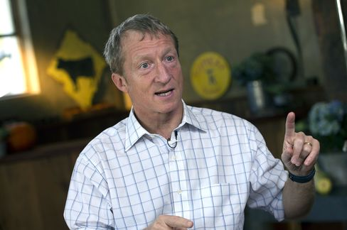 Steyer Nets $10,050 in Quest for $100 Million Climate Super-PAC