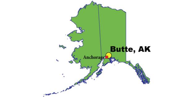 Most Expensive Suburb in Alaska: Butte