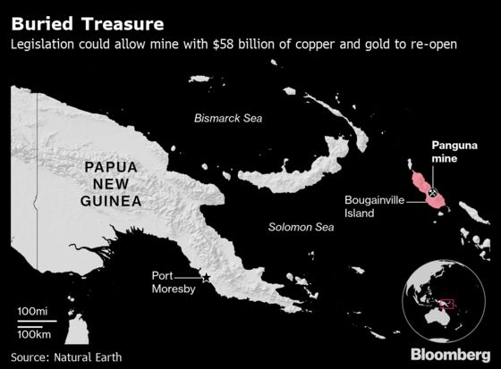 The Remote Island Sitting on $58 Billion of Gold and Copper