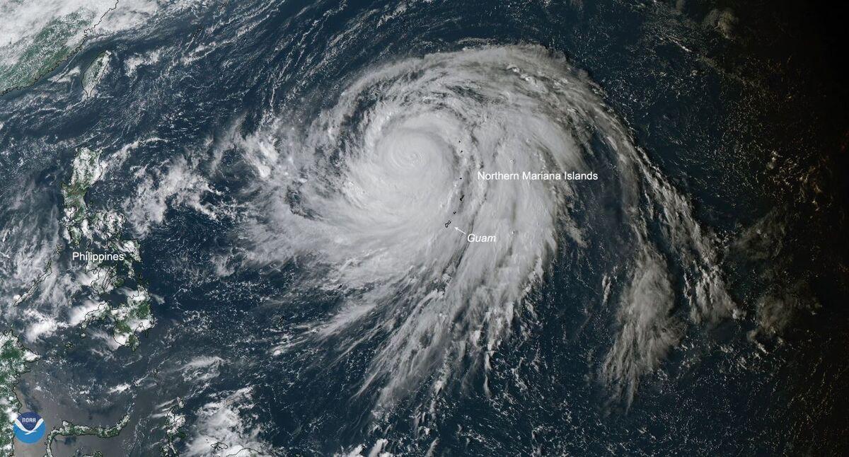 Monster Typhoon Will Scrape Japan Before Chilling U.S. Next Week