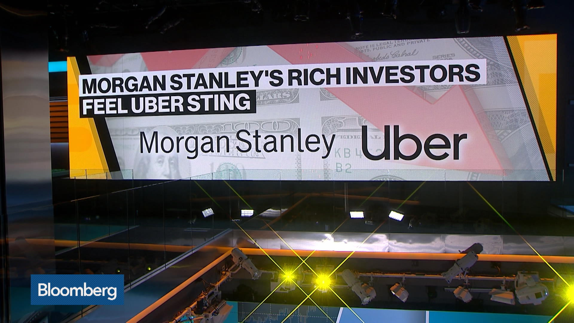 Uber Blame Game Focuses on Morgan Stanley After Shares Drop