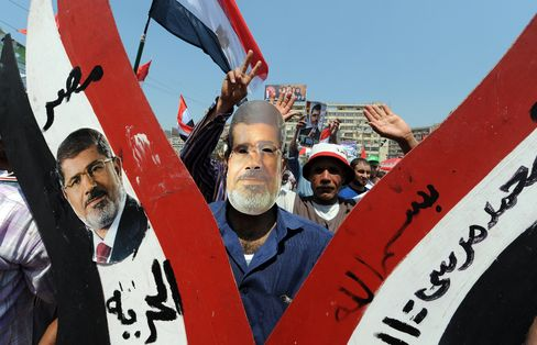 Egypt Orders Mursi's Detention as Rival Protests Commence
