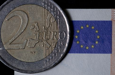 Euro Weakens as German, French Economies Shrink