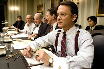 CHARLIE WILSON'S WAR, Tom Hanks (front), 2007.