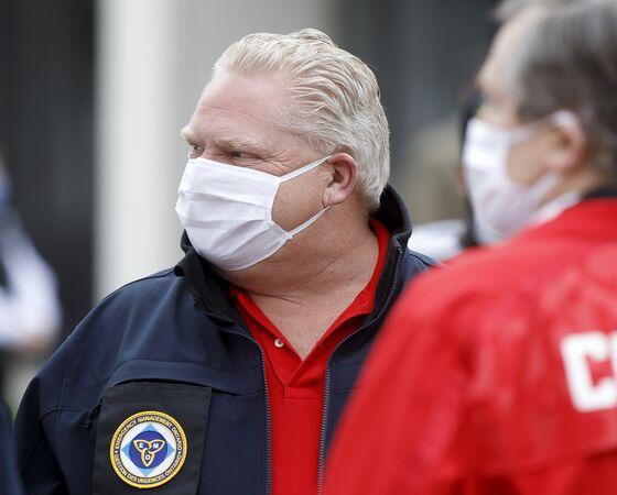 Ontario Decries 'Reckless' U.S. Effort to Reopen After Covid