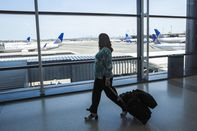 Newark Liberty International Airport As Airline Industry Forecast To Suffer Record $84 Billion Loss