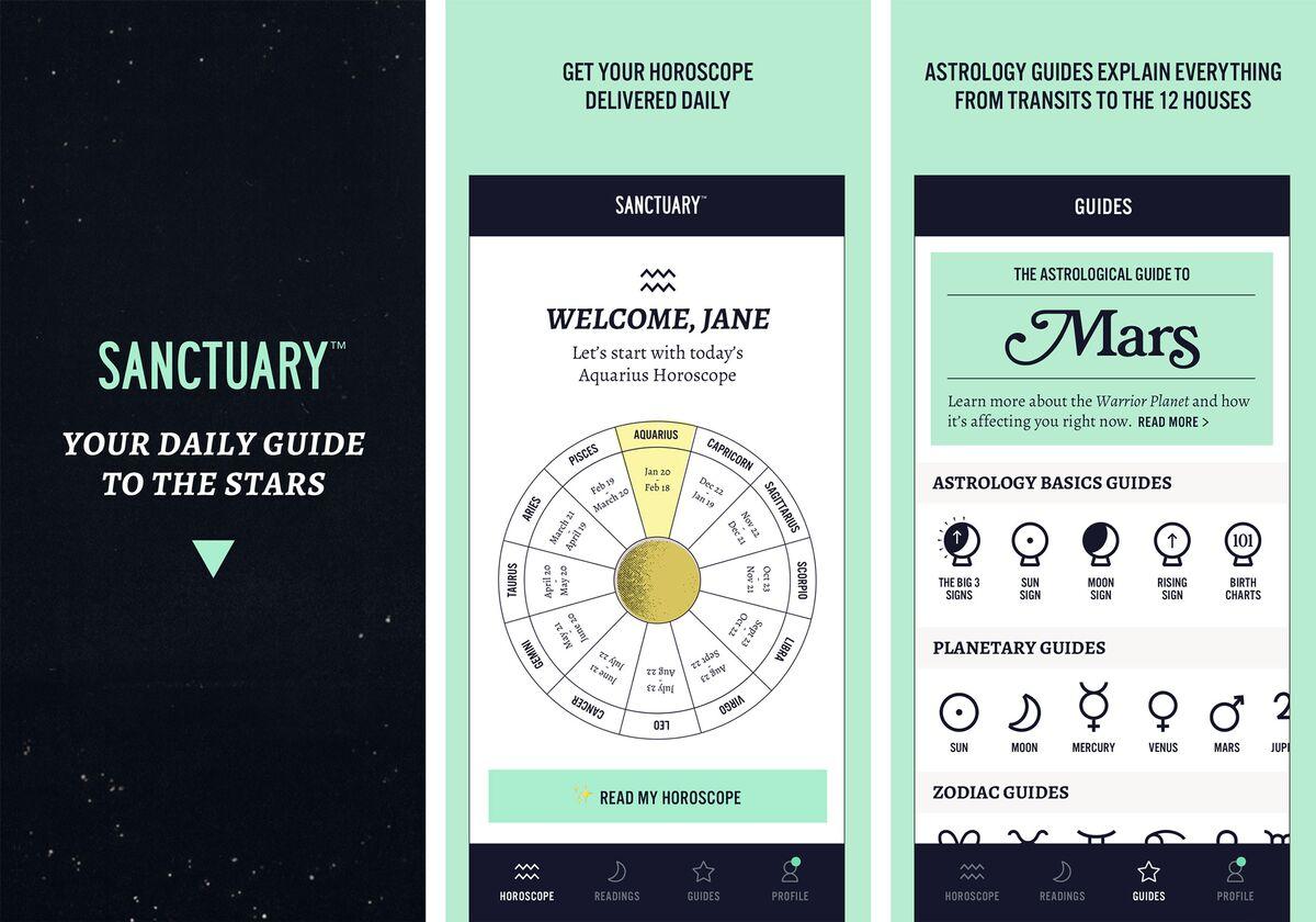 Sanctuary horoscope app