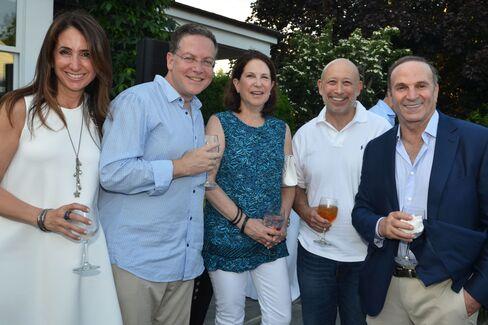 Susan and Stephen Scherr, Laura and Lloyd Blankfein and Roy Geronemus