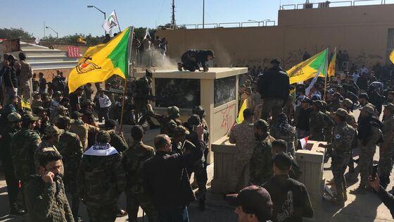 Iraqi Protesters Take Bodies of Raid Casualties to U.S. Embassy
