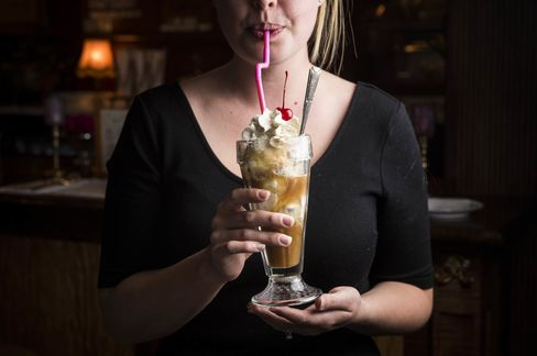Desserts are simple. Don't miss the root beer float.