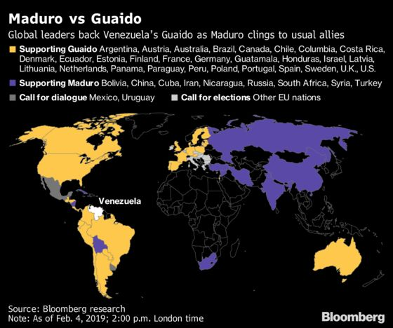 Venezuela's Guaido Wants China to See Maduro Is Bad for Business