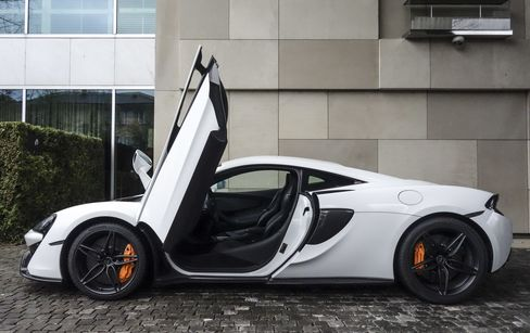 Doors on the 570S open higher and tighter than the ones on the other models.