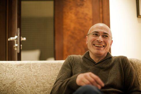 Former Oil Tycoon Mikhail Khodorkovsky